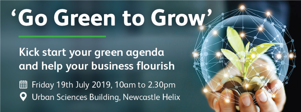 Go Green to Grow Event – July 19th 2019